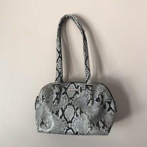 Evan Picone python print Shoulder Bag